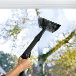 Fenster putzen mit Dampfreiniger