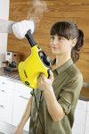 Handdampfreiniger in der Küche