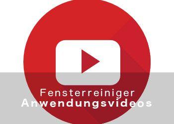 Fensterreiniger-Anwendungsvideos Slide