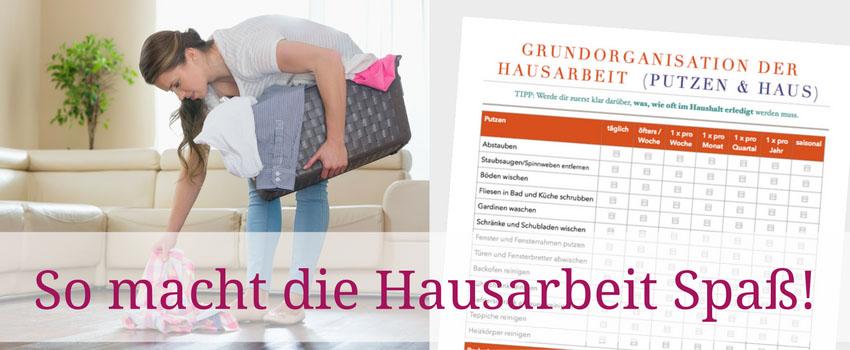 Checklisten Hausarbeit